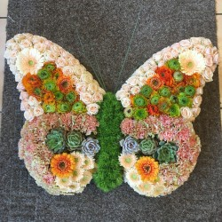 Rouwarrangement Vlinder